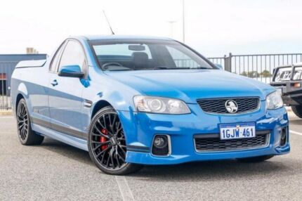 2012 Holden Commodore VE II MY12.5 SS-V Z-Series Blue 6 Speed Manual Utility