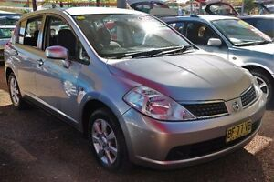 2007 Nissan Tiida C11 MY07 ST Silver 4 Speed Automatic Hatchback Colyton Penrith Area Preview