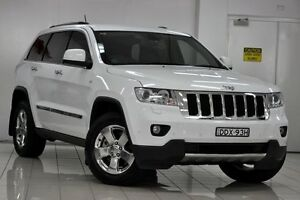 2012 Jeep Grand Cherokee WK MY13 Limited (4x4) White 5 Speed Automatic Wagon Chatswood West Willoughby Area Preview