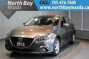 2014 Mazda Mazda3 GX-SKY Bluetooth + Cloth Interior + Push to St