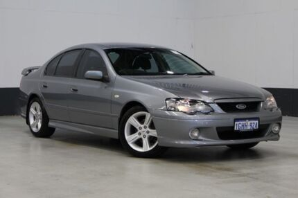 2005 Ford Falcon BA MkII XR6 Grey 4 Speed Auto Seq Sportshift Sedan Bentley Canning Area Preview