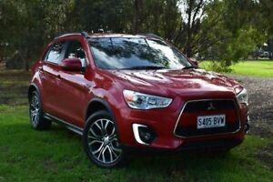 2016 Mitsubishi ASX XB MY15.5 LS 2WD Red 6 Speed Constant Variable Wagon St Marys Mitcham Area Preview