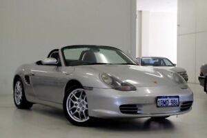 2004 Porsche Boxster 986 MY04 Silver 5 Speed Sports Automatic Convertible Myaree Melville Area Preview