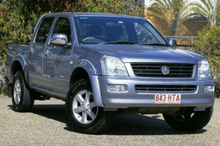 2004 Holden Rodeo RA LT Crew Cab Blue 5 Speed Manual Utility