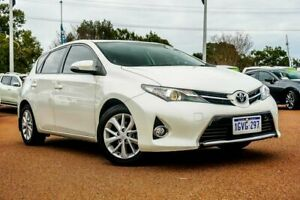 2013 Toyota Corolla ZRE182R Ascent Sport S-CVT White 7 Speed Constant Variable Hatchback Wangara Wanneroo Area Preview