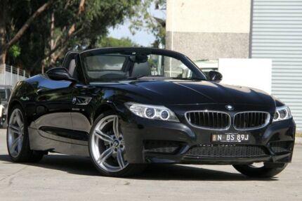 2015 BMW Z4 E89 MY15 sDrive 28I Black 8 Speed Automatic Roadster