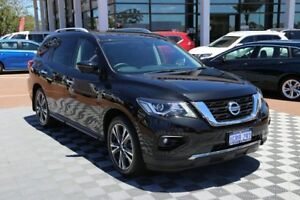 2018 Nissan Pathfinder R52 Series II MY17 Ti X-tronic 4WD Black 1 Speed Constant Variable Wagon