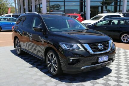 2018 Nissan Pathfinder R52 Series II MY17 Ti X-tronic 4WD Black 1 Speed Constant Variable Wagon Alfred Cove Melville Area Preview