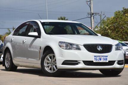 2015 Holden Commodore VF MY15 Evoke White 6 Speed Automatic Sedan