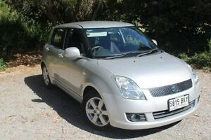 2007 Suzuki Swift RS415 S Silver 4 Speed Automatic Hatchback Hawthorn Mitcham Area Preview