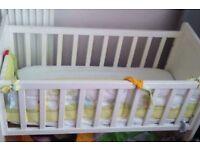 Crib cot with matress