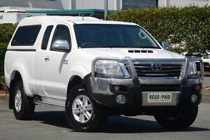 2012 Toyota Hilux KUN26R MY12 SR5 Xtra Cab White 5 Speed Manual Utility Acacia Ridge Brisbane South West Preview