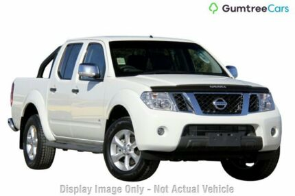 2013 Nissan Navara D40 S5 MY12 ST-X 550 White 7 Speed Sports Automatic Utility Moorooka Brisbane South West Preview