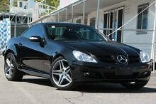 2007 Mercedes-Benz SLK200 Kompressor R171 MY08 Black 5 Speed Automatic Roadster Wavell Heights Brisbane North East Preview