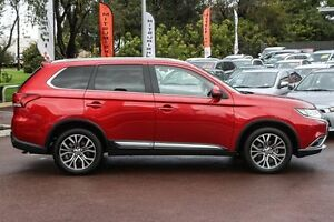 2016 Mitsubishi Outlander ZK MY16 LS 2WD Red 6 Speed Constant Variable Wagon Wilson Canning Area Preview