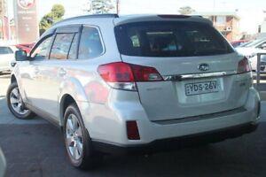 2011 Subaru Outback MY11 2.0D Premium White 6 Speed Manual Wagon