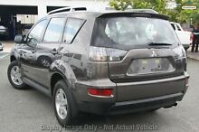 2010 Mitsubishi Outlander ZH MY10 LS Grey 6 Speed Constant Variable Wagon Cannington Canning Area Preview