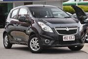 2013 Holden Barina Spark MJ MY13 CD Black 5 Speed Manual Hatchback Burpengary Caboolture Area Preview