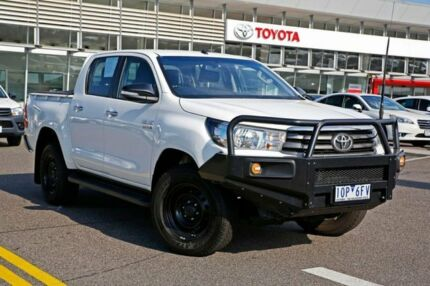 2015 Toyota Hilux GUN126R SR Double Cab White 6 Speed Sports Automatic Utility Strathmore Moonee Valley Preview