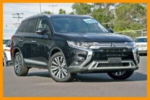 2018 Mitsubishi Outlander ZL MY19 Exceed AWD Black 6 Speed Sports Automatic Wagon Mount Gravatt Brisbane South East Preview