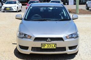 2012 Mitsubishi Lancer CJ MY12 Platinum Edition Sportsback Silver 5 Speed Manual Hatchback Windradyne Bathurst City Preview