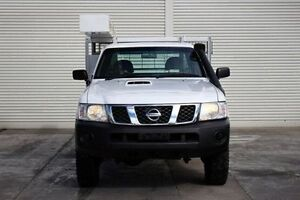 2011 Nissan Patrol GU 6 Series II DX White 5 Speed Manual Cab Chassis Seaford Frankston Area Preview