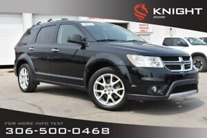 2014 Dodge Journey R/T | Sunroof | Heated Leather Seats | 3rd Ro