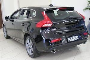 2016 Volvo V40 M MY16 T4 Luxury Black 6 Speed Automatic Hatchback Killara Ku-ring-gai Area Preview