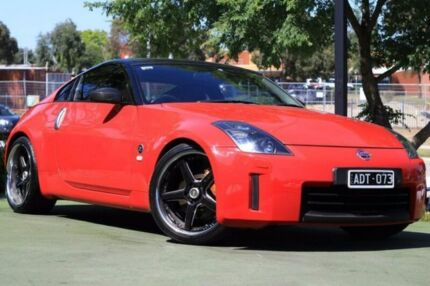 2008 Nissan 350Z Z33 MY07 Track Red 6 Speed Manual Coupe Berwick Casey Area Preview