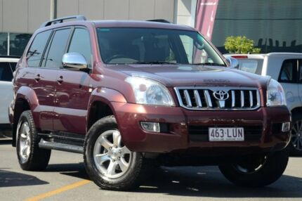 2009 Toyota Landcruiser Prado KDJ120R GXL Maroon 5 Speed Automatic Wagon Wavell Heights Brisbane North East Preview