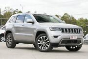 2018 Jeep Grand Cherokee WK MY18 Limited Silver 8 Speed Sports Automatic Wagon Springwood Logan Area Preview