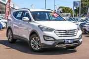 2014 Hyundai Santa Fe DM MY14 Active White 6 Speed Sports Automatic Wagon Cannington Canning Area Preview