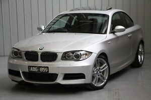 2009 BMW 135I E82 Sport Silver 6 Speed Manual Coupe Port Melbourne Port Phillip Preview
