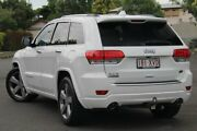 2014 Jeep Grand Cherokee WK MY2014 Overland White 8 Speed Sports Automatic Wagon Chermside Brisbane North East Preview