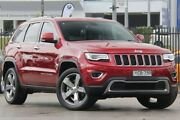 2014 Jeep Grand Cherokee WK MY14 Limited (4x4) Red 8 Speed Automatic Wagon Penrith Penrith Area Preview
