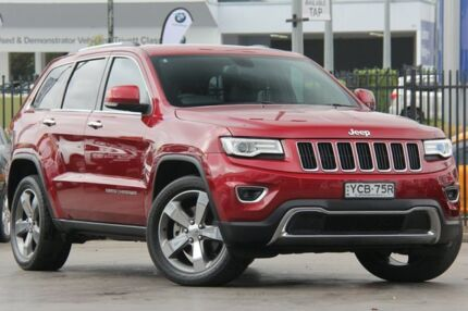 2014 Jeep Grand Cherokee WK MY14 Limited (4x4) Red 8 Speed Automatic Wagon