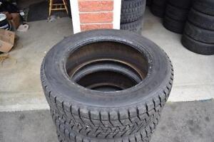 255/55/18 Bridgestone Blizzack Snow Tires Full Set 95% Tread