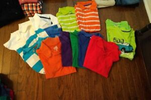 Golf Shirts - Boys - Size 10-12 - Children's Place and Old Navy