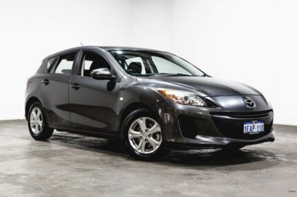 2012 Mazda 3 BL10F2 Maxx Activematic Sport Grey 5 Speed Sports Automatic Hatchback Welshpool Canning Area Preview
