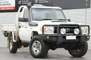 2010 Toyota Landcruiser VDJ79R MY10 Workmate French Vanilla 5 Speed Manual Cab Chassis Adelaide CBD Adelaide City Preview