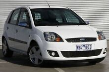 2007 Ford Fiesta  White Automatic Hatchback Ringwood East Maroondah Area Preview