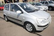 2005 Hyundai Getz TB MY05 GL Silver 4 Speed Automatic Hatchback Kingsville Maribyrnong Area Preview