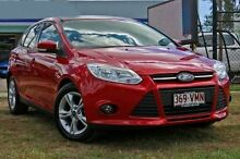 2014 Ford Focus LW MKII Trend Hatch Candy Red Automatic Hatchback Capalaba West Brisbane South East Preview