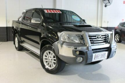 2012 Toyota Hilux Black 5 Speed Manual Utility Southport Gold Coast City Preview