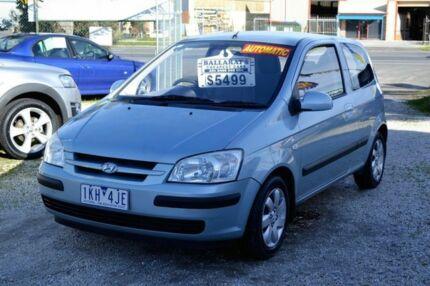 2004 Hyundai Getz GL TB Blue Automatic Hatchback