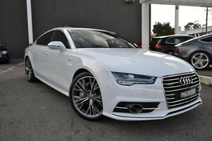 2015 Audi A7 4G MY15 White 8 Speed Sports Automatic Hatchback Burwood Whitehorse Area Preview
