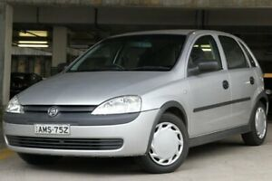 2002 Holden Barina XC Silver 4 Speed Automatic Hatchback Brookvale Manly Area Preview
