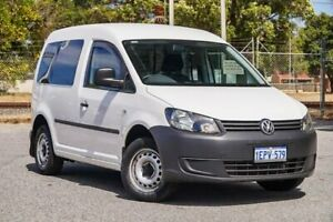2014 Volkswagen Caddy 2KN MY14 TDI250 SWB DSG White 7 Speed Sports Automatic Dual Clutch Van Gosnells Gosnells Area Preview