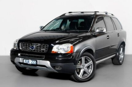 2010 Volvo XC90 P28 MY10 D5 Geartronic R-Design Black 6 Speed Sports Automatic Wagon Port Melbourne Port Phillip Preview