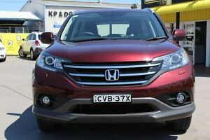 2013 Honda CR-V RM MY14 VTi-L 4WD Carnelian Red 5 Speed Sports Automatic Wagon Telarah Maitland Area Preview